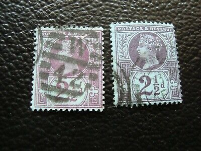 Briefmarke Yvert / Tellier Nr Sinnvoll Uk a37 95 X2 Gestempelt