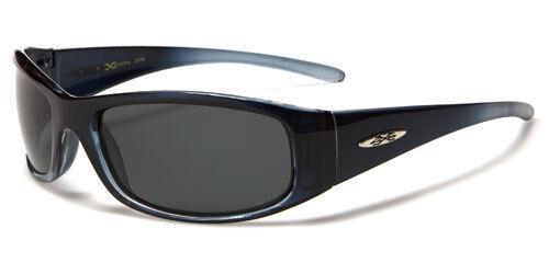 Sunglasses New Polarized Sport Shades Wraps X-Loop UV400 Men Women Blue PZ312E