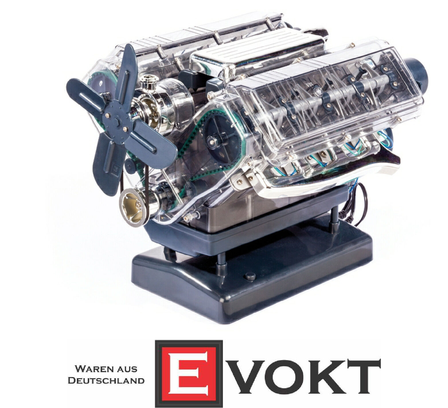 V8 engine, kit 1  3     Franzis 90aa6b