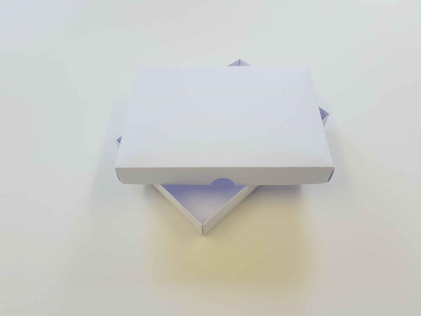 100 x A5 Greeting Card Boxes, Gift Boxes, Weiß Boxboard, Free Delivery