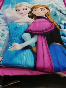 Sisters-Ana-and-Elsa-Snowy-Scenic-Panel-Frozen