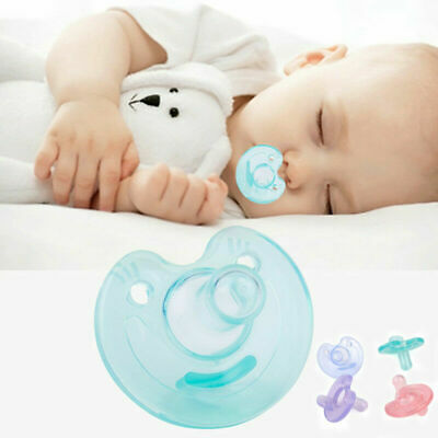 Newborn//Kids Baby Orthodontic Dummy Pacifier Infant Silicone Teat Nipple Soother
