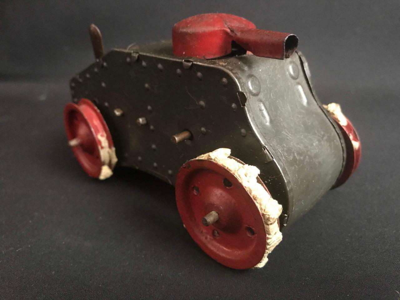 artículos de promoción Tanque WW1 Miniatura líneas Bros Triang Minic Minic Minic Pre Guerra mecanismo de relojería juguete de estaño  ahorra hasta un 50%