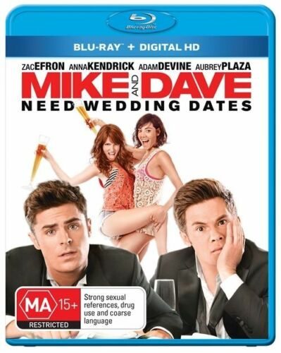 1 of 1 - Mike And Dave Need Wedding Dates (Blu-ray, 2016)