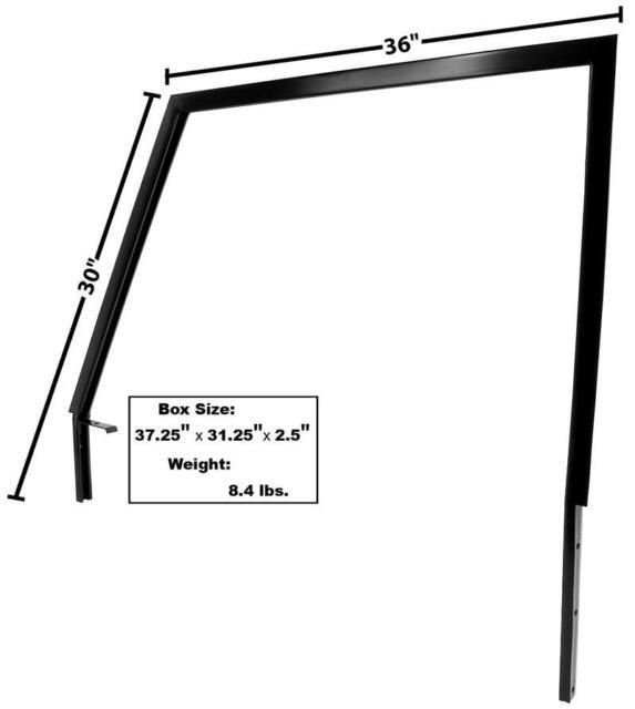 1966-77 Bronco Door Window Frame Drivers