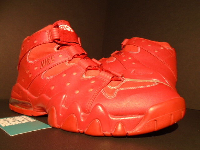 2011 NIKE AIR MAX 2 CB 94 HOH BARKLEY RIP STOP RED OCTOBER WHITE 416189-661 11.5