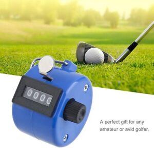 Handheld-Golf-Tally-Click-Counter-4-Digital-Chrome-Manual-Mechanical-Counter-RY