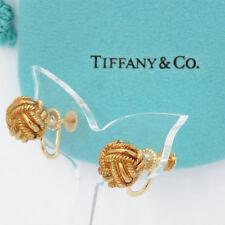 NYJEWEL Tiffany & Co. 14k Solid Gold Twist Knot Earring ID# 3330