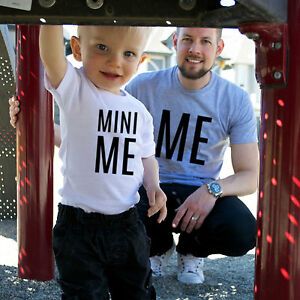 Adult And Kids Parent Child Matching Me Mini Me T Shirts