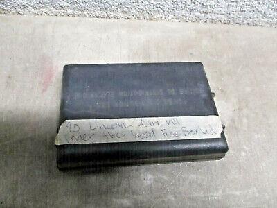 Fuse Box Cover Lincoln Mark VIII 93 94 95 96   eBay