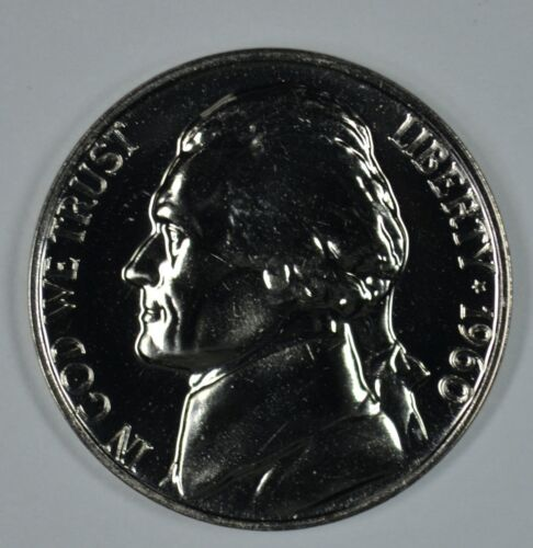 1960 Proof Jefferson Nickel Full Steps Nice Coins Priced Right Shipped FREE