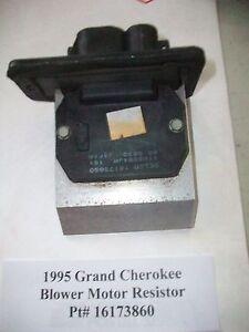 1995 jeep grand cherokee infinity amp wiring 1995 95 jeep grand cherokee blower motor resistor pt ... 1995 jeep grand cherokee blower motor wiring