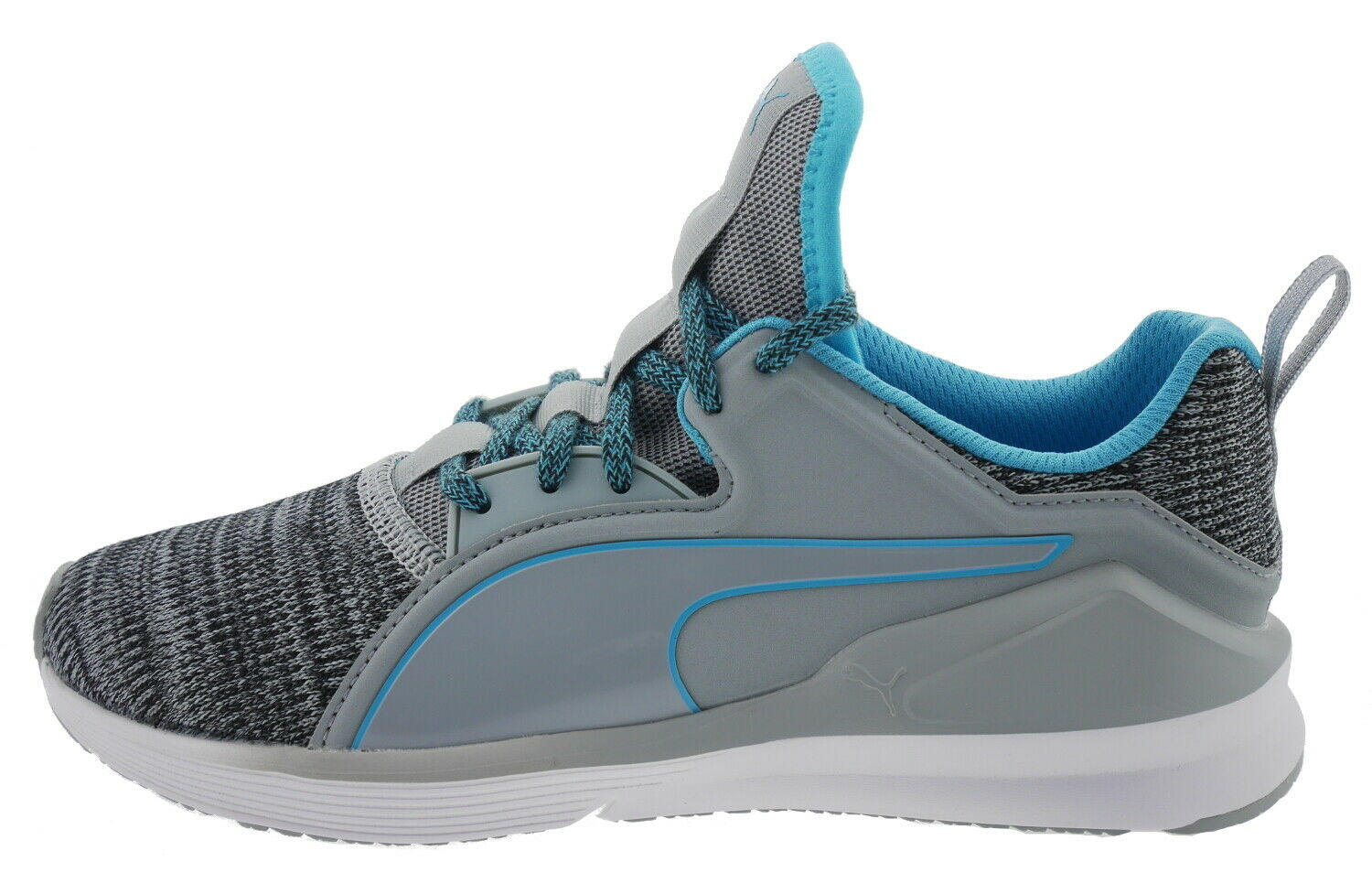 Puma Fierce Lace Knit Wns Sneaker grey blue 180625