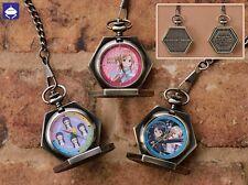 Sword Art Online pocket watch complete set 3 Japan NEW NIB RARE