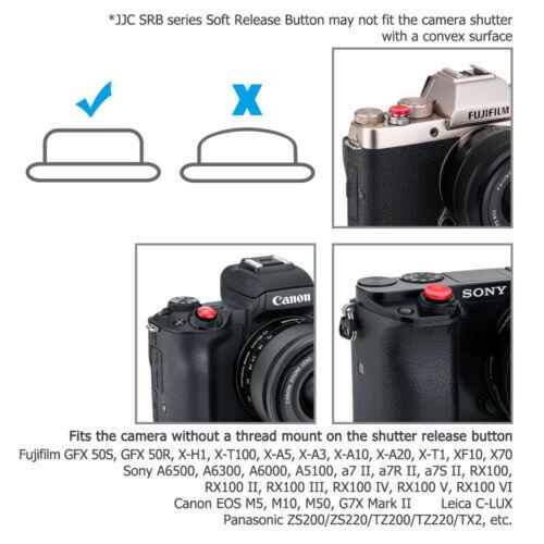 2 x botón de liberación del obturador Fr Sony A7 A7R II A7S II RX100 VI v II III II A7M2 IV