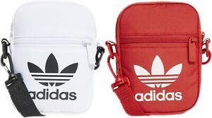 Adidas-Festival-Mini-Bag-Trefoil-Sack-Organizer-White-Night-Cargo-Unisex-Men-Red