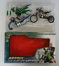 Masked Kamen Rider Black RX Battle Hopper Acrobattar Set Souchaku Henshin EX