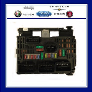 new genuine engine bay fuse box for citroen c5 c4 c8 dispatch 6500ck ebay. Black Bedroom Furniture Sets. Home Design Ideas
