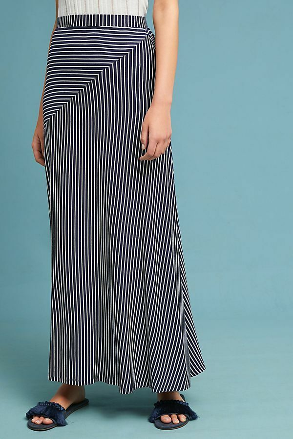 Anthropologie Lonnie Striped Skirt By Sunday in Brooklyn, Size S, NWT