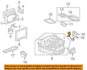 honda oem 04 09 s2000 2 2l l4 a c ac evaporator heater drain hose rh ebay com