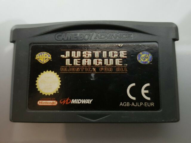 JUSTICE LEAGUE GAME BOY ADVANCE SP (GBA)