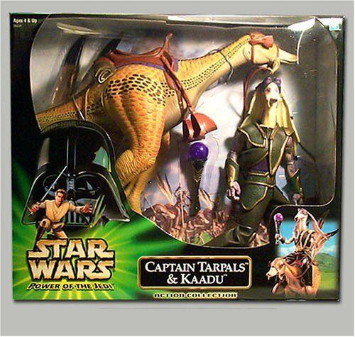 Star Wars Power of the Jedi 12  Captain Tarpals and Kaadu Hasbro