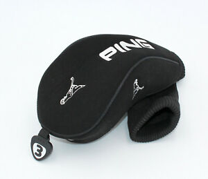 Nouveau-Ping-Noir-Ping-Man-3-Bois-De-Fairway-un-Couvre-bois-Golf-Head-Cover