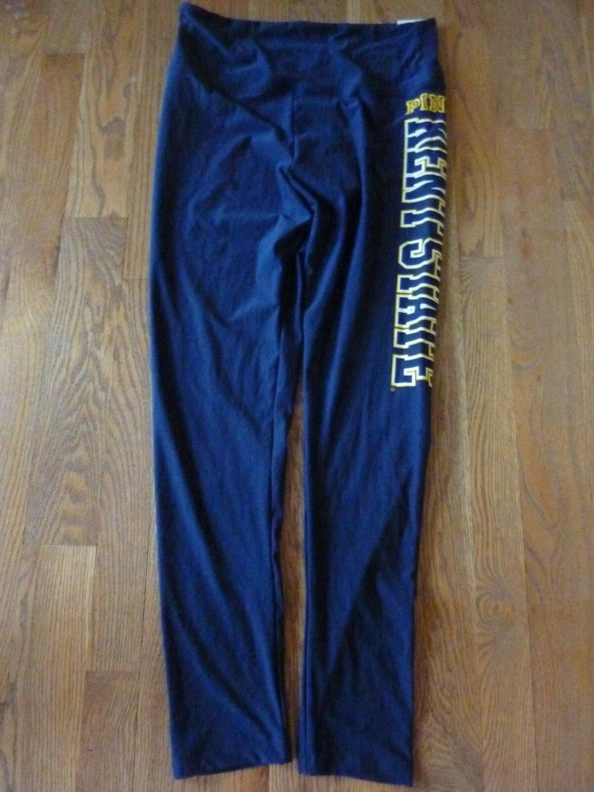 VICTORIAS SECRET PINK RARE SUPER SOFT KENT STATE ULTIMATE YOGA LEGGINGS NWT