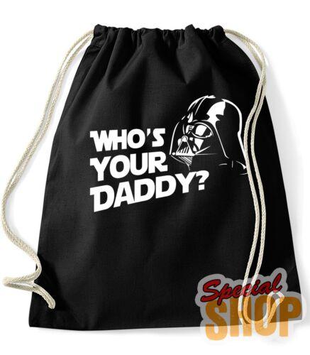 MOCHILA BOLSA WHO/'S YOUR DADDY DARTH VADER BACKPACK