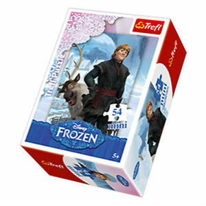 TREFL-puzzle-54-pieces-mini-DISNEY-La-reine-des-neiges-KRISTOFF-SVEN-5-NEUF