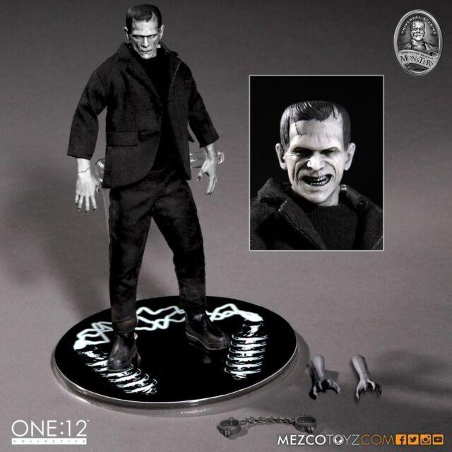 One:12 Universal Studios Frankenstein Monsters 1:12 Mezco Action Figure