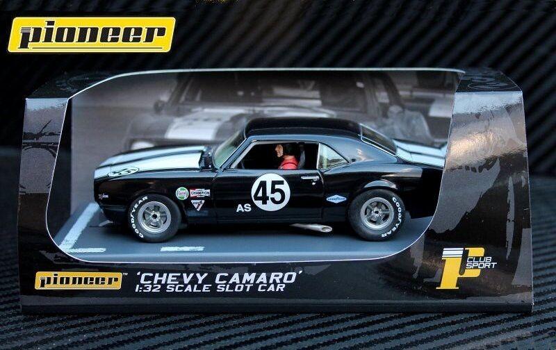 Pioneer 1968 Chevrolet Camaro Z-28 Club Sport DPR 1 32 Scale Slot Car P059