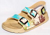 Birki's Sandals By Birkenstock For Kids Unisex Strap Aruba Palm Taupe