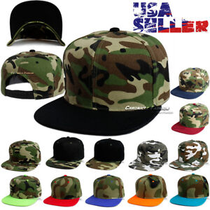 Image is loading Baseball-Hat-Camouflage-Snapback-Cap-Tactical-Hip-Hop- 46d033bda0e