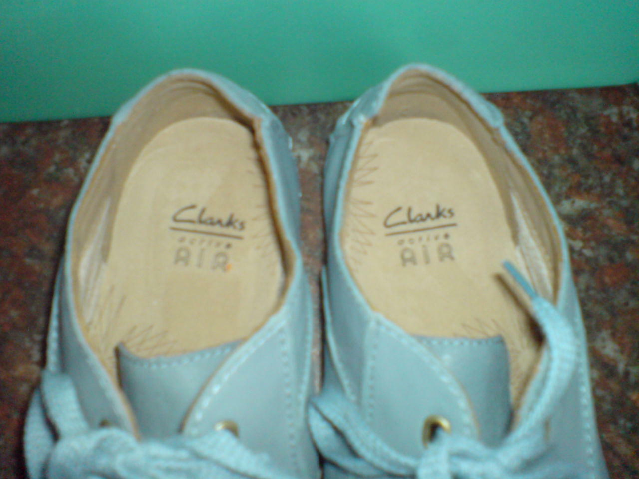 Clarks Damenschuhe FABULOUS ICONACTIVE AIR STRONG SOLE Blau Blau SOLE LEATHER  UK 5.5 c8a557