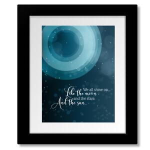 Instant Karma by John Lennon - Rock Music Song Lyric Art Print, Canvas or Plaque