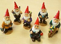 Mini Gnomes Garden Fairy Set Of 6, New, Free Shipping on sale