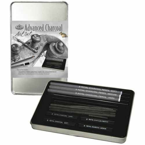 Advanced Charcoal Art Set WTin RSET2503