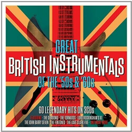 Various Artists - Great British Instrumentals [New CD] UK - Import