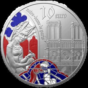 Frankreich-10-Euro-2020-Europa-Stern-Serie-Gotik-22-20-gr-Silber-PP
