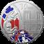 Frankreich-10-Euro-2020-Europa-Stern-Serie-Gotik-22-20-gr-Silber-PP miniatuur 1