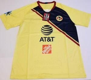 separation shoes bf3f7 7e17c Details about Club America 2018/2019 las aguilas Home Soccer Jersey liga mx
