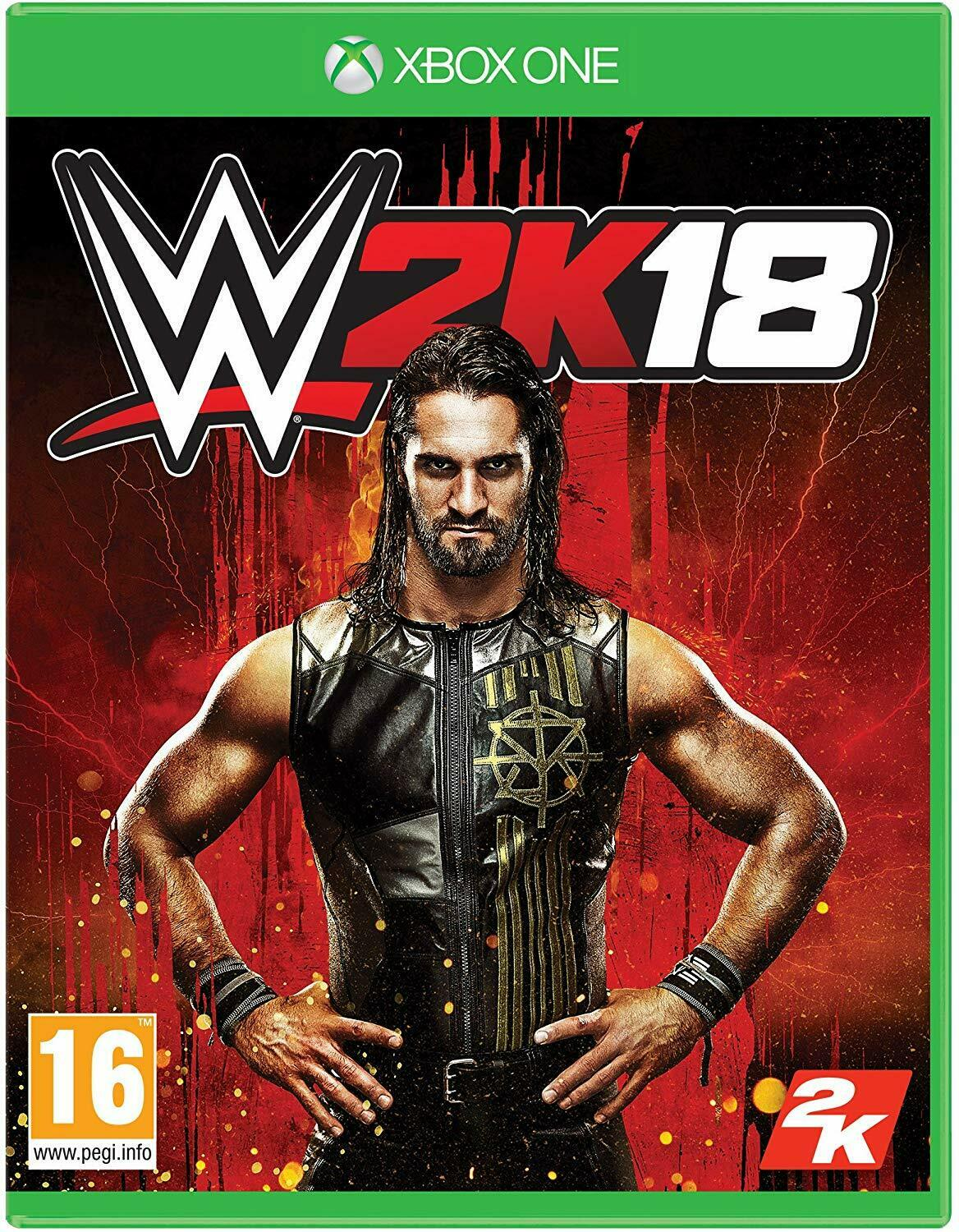 WWE 2K18 (Xbox One) Wrestling ** Brand New & Sealed Fast Dispatch Free Delivery