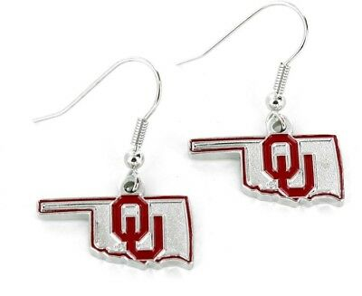 NCAA Oklahoma State Cowboys Dangle Earrings