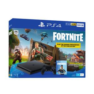 fortnite ps4 console