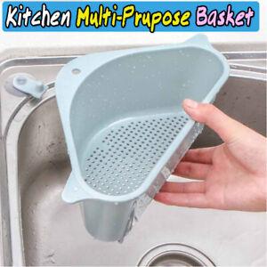 Triangular Sink Drain Shelf Kitchen Corner Sink Rack Basket Free Shipping Us Fo Ebay