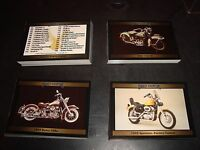 Harley Davidson Ser 2 Trading Card Set 100 Cards Mint Condition Motorcycle 1992