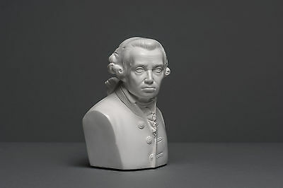 Kein Gips Disciplined Immanuel Kant Büste Kunst #096 Dekoration Deko 16 Cm Skulptur