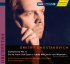 Sinfonie 4/Suite op.29a von Andrey Boreyko,Rso Stuttgart (2007)