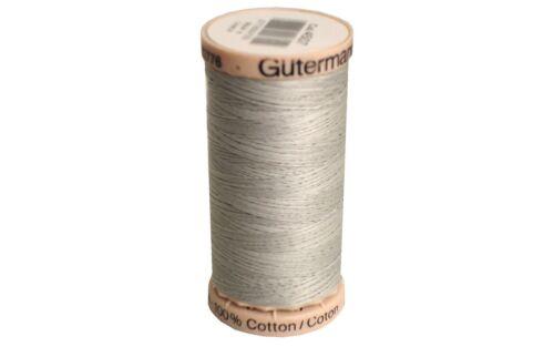 GUTERMANN G201.4507 G201 4507 HAND QUILT THREAD 200M LIGHT GREY
